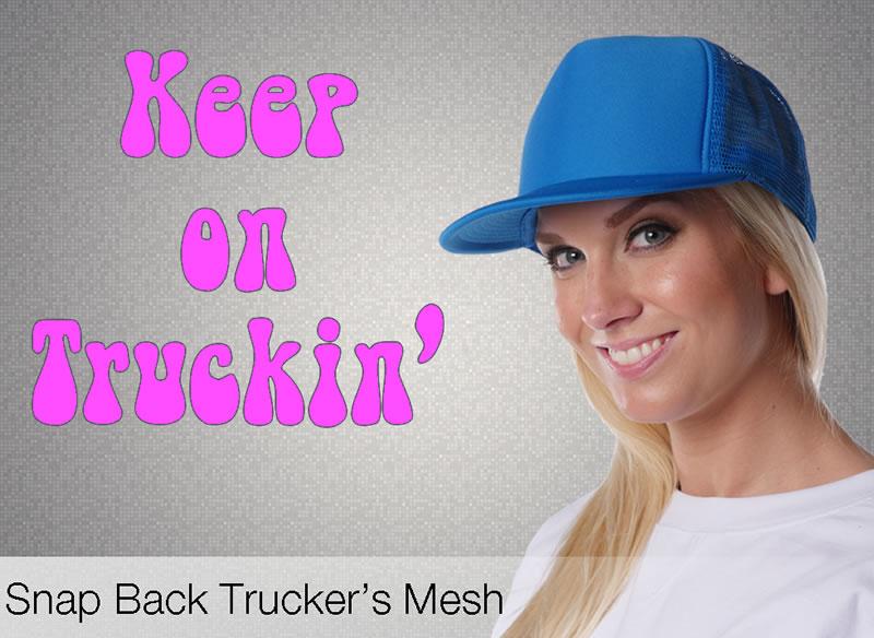 Neon Trucker Hats