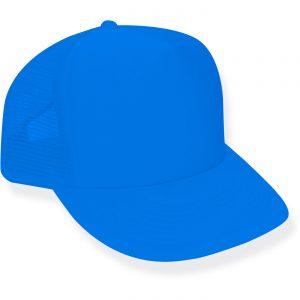 Neon Blue Trucker Hat