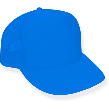 Neon Blue Trucker Hat