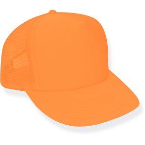 Neon Orange Trucker Hat