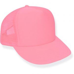 Neon Pink Trucker Hat