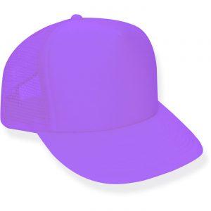 Neon Purple Trucker Hat