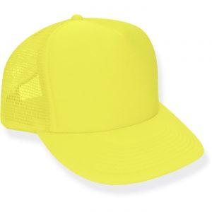 Neon Yellow Trucker Hat