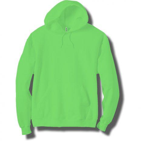 Adult Neon Green Hoodie