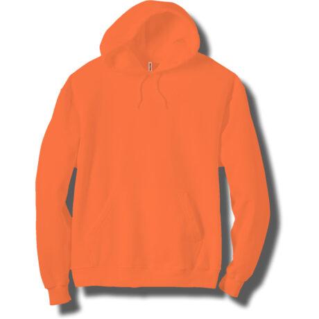 Adult Neon Orange Hoodie