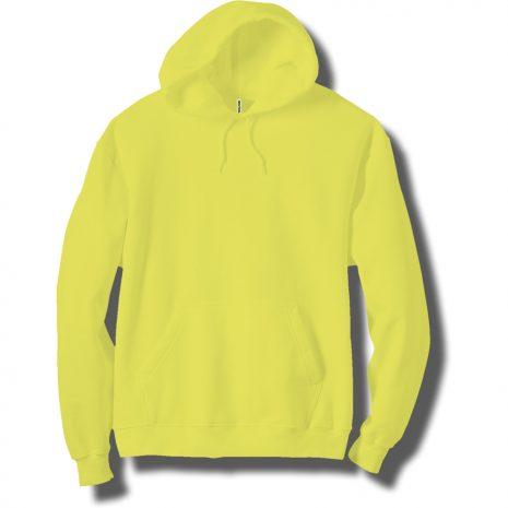 Adult Neon Yellow Hoodie