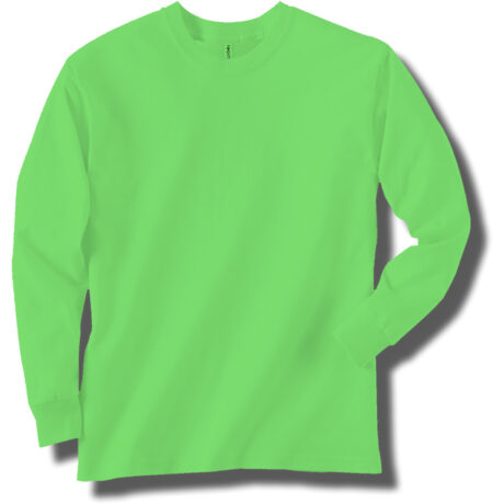 Neon Green Long Sleeve T-Shirt