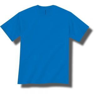 Neon Blue Short Sleeve Tee