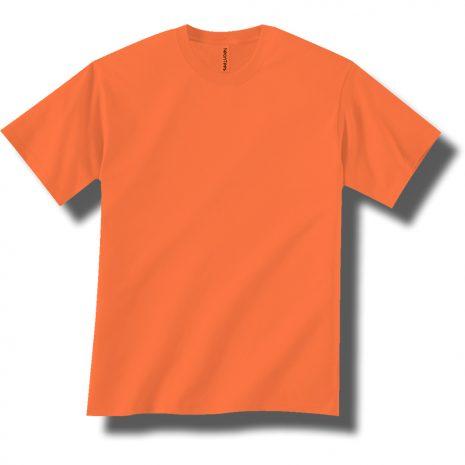 Neon Orange Short Sleeve Tee