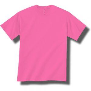 Neon Pink Short Sleeve Tee