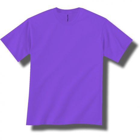 Neon Purple Short Sleeve Tee