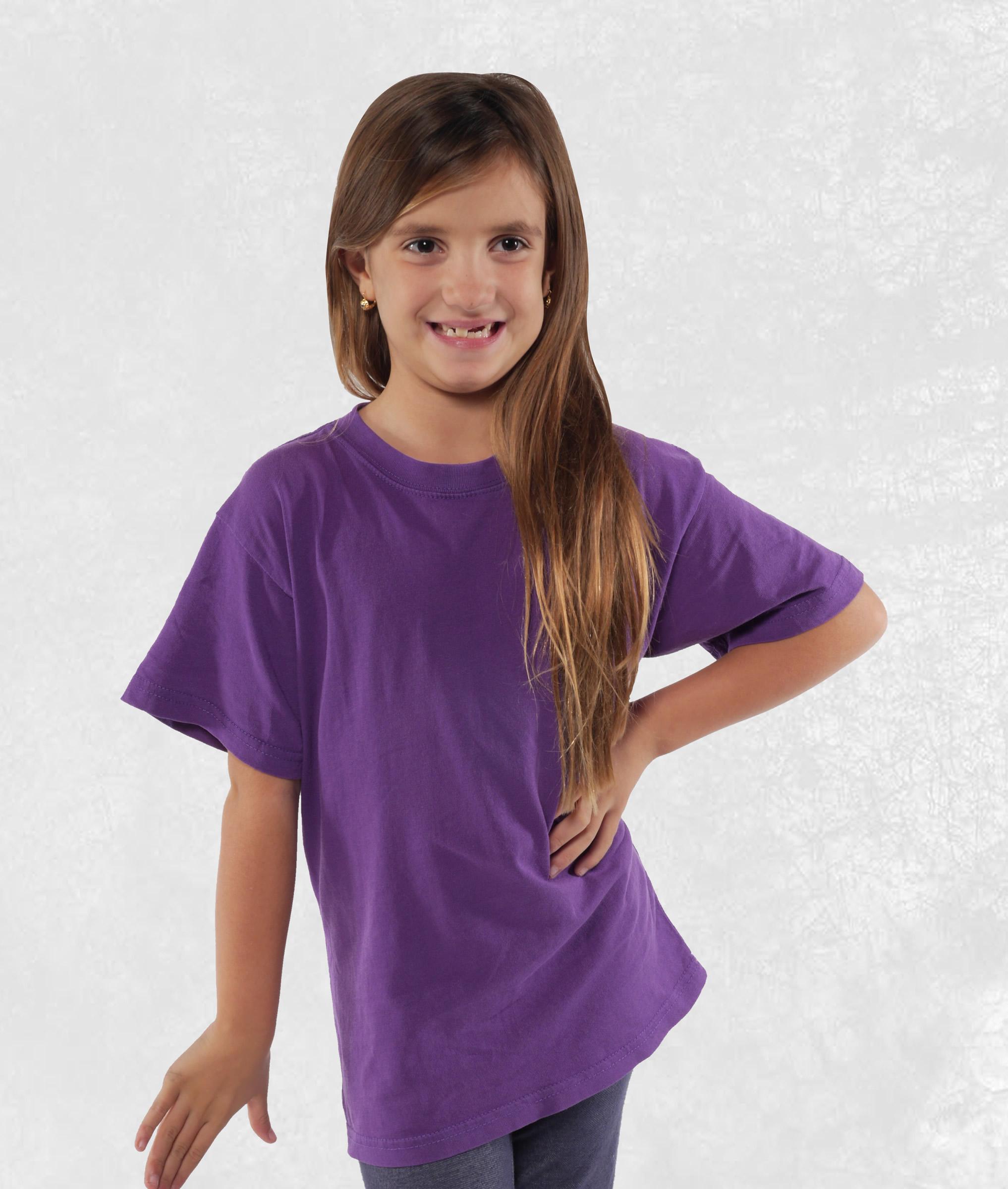 Neon Purple Youth Short Sleeve Tees
