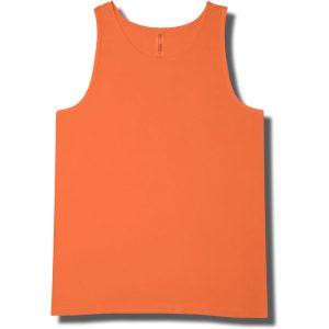 Neon Orange Tank Top