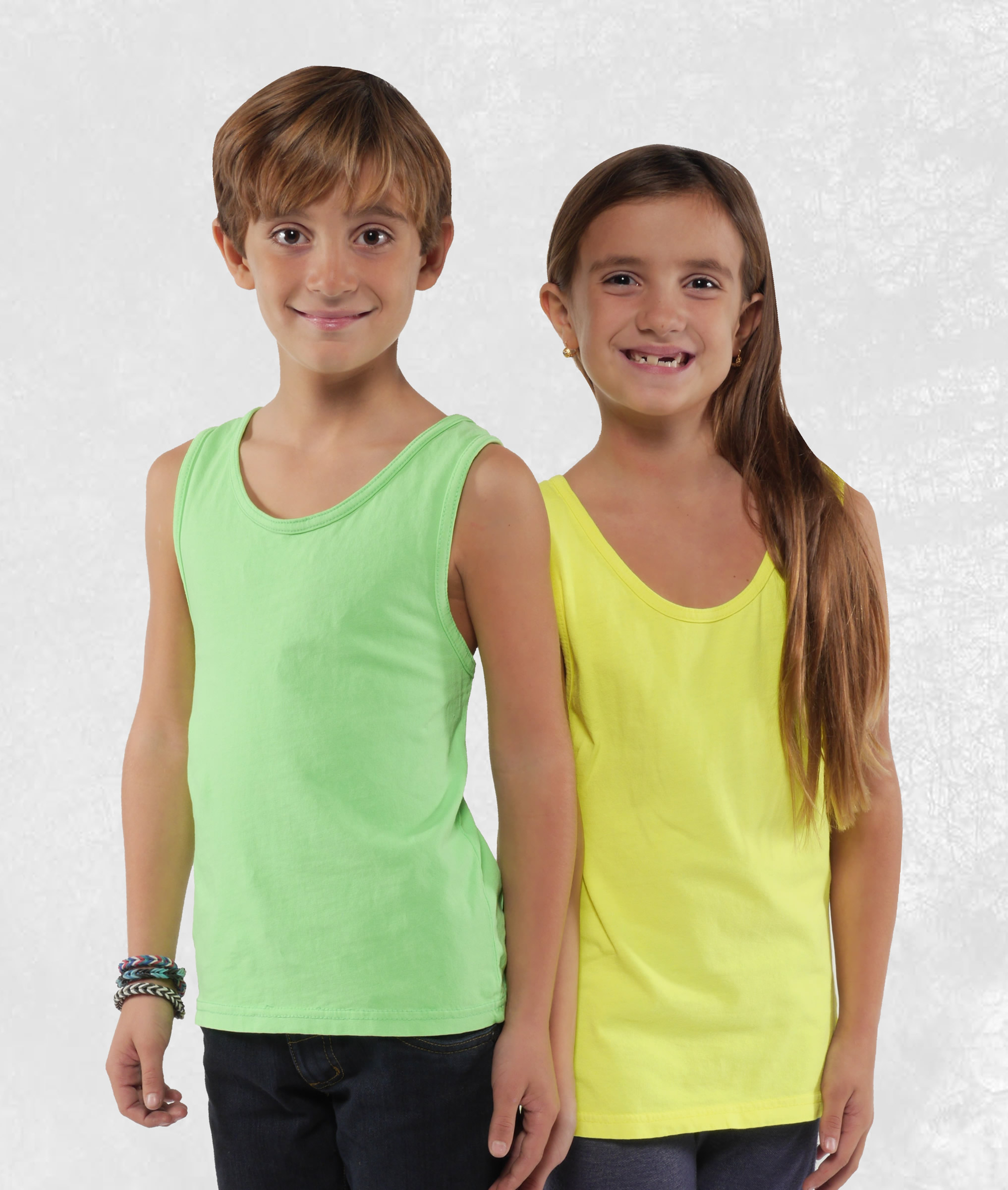 Youth Neon Tank Tops