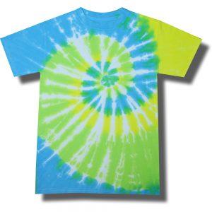 Neon Cool Breeze Tie Dye Tee