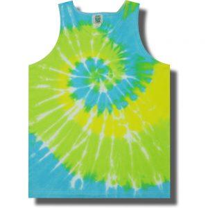 Neon Cool Breeze Tie Dye Tank