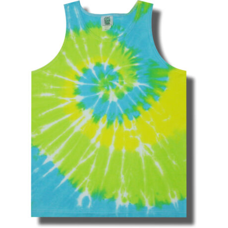 Neon Cool Breeze Tie Dye Tank